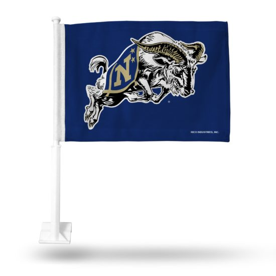 Navy Midshipmen Car Flag