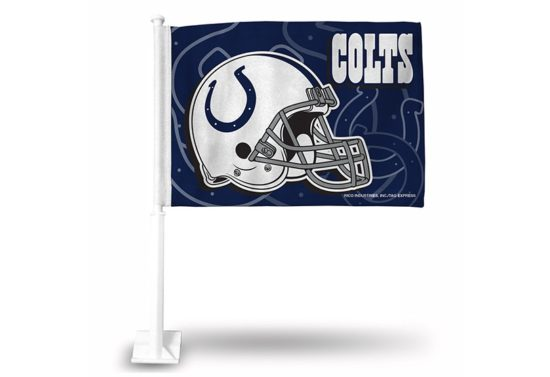 INDY COLTS CAR FLAG
