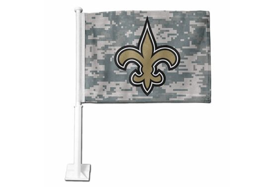 NEW ORLEANS SAINTS DIGI CAMO WITH PRIMARY CAR FLAG